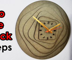 How to Make ART CLOCK