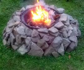 Creek Stone Fire Pit