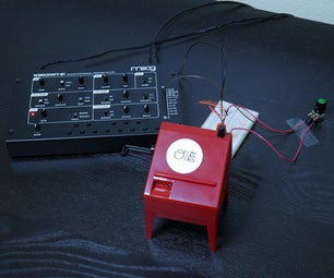 Connect a Mini Theremin to a Moog Werkstatt
