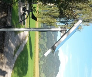 GSM Solar Powered Wind Station