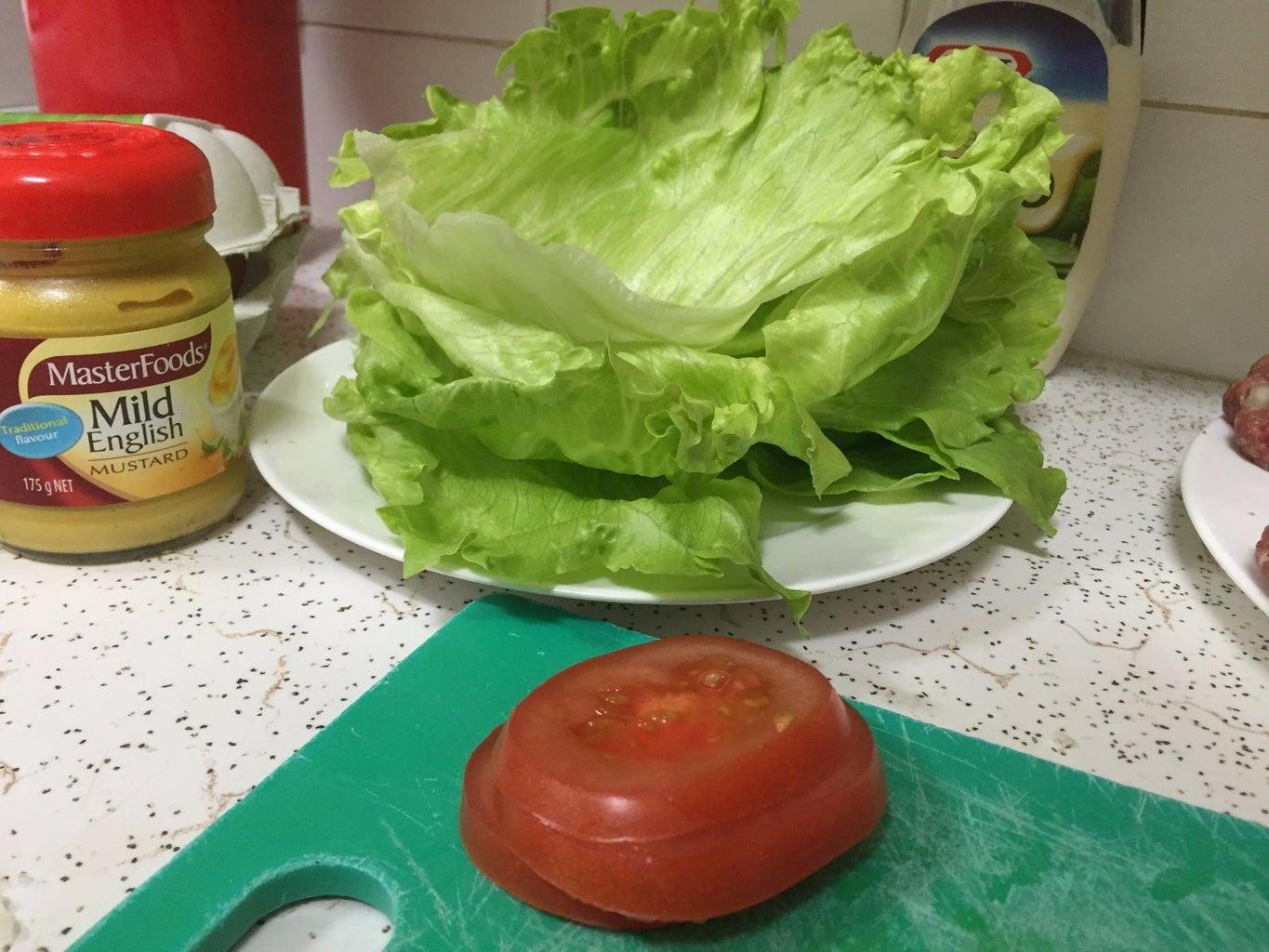 Prepare Your Toppings (cheese, Avocado, Tomato, Lettuce and Buns)