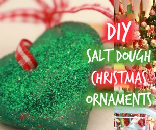 German Inspired Salt Dough Xmas Ornaments