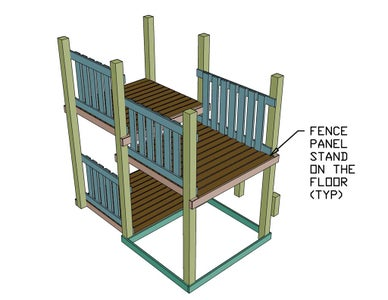 Install Fence Panels