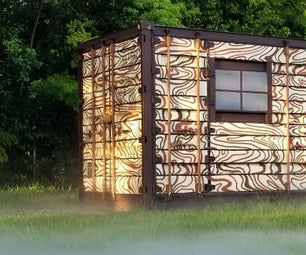 Tiny Shipping Container Home