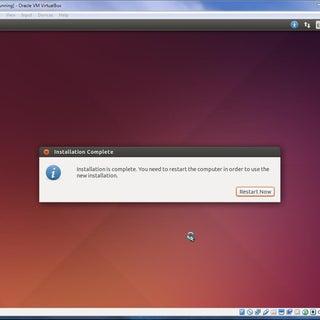 Installing a Virtual Machine and Ubuntu on Windows 7