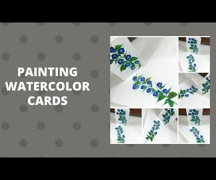 PAINTING WATERCOLOR CARDS