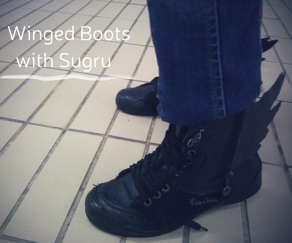Winged Boots With Sugru