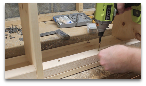 Attaching the Mounting Blocks
