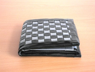 Detailed Woven Duct Tape Wallets Instructable
