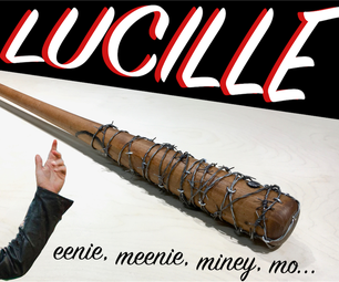 Make It - Lucille Prop Replica - 100% REAL
