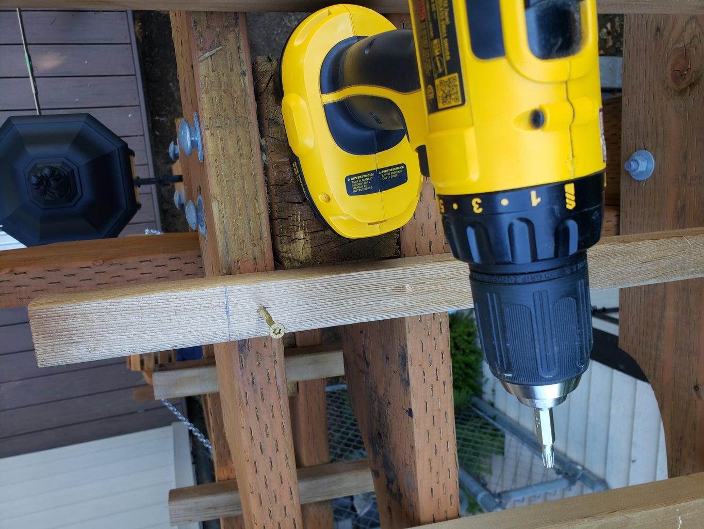 Installing Top Wood Bars