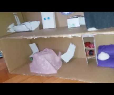 DIY Recycled Doll House