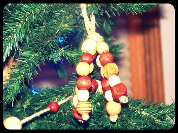How to Make Wooden Bead Ornaments