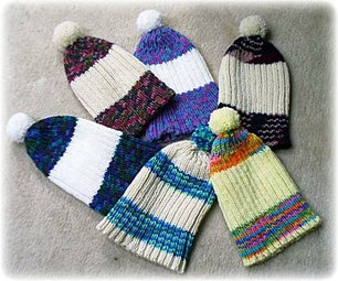 """Knit a """"Cosy"""" Hat - Pattern Provided!"""