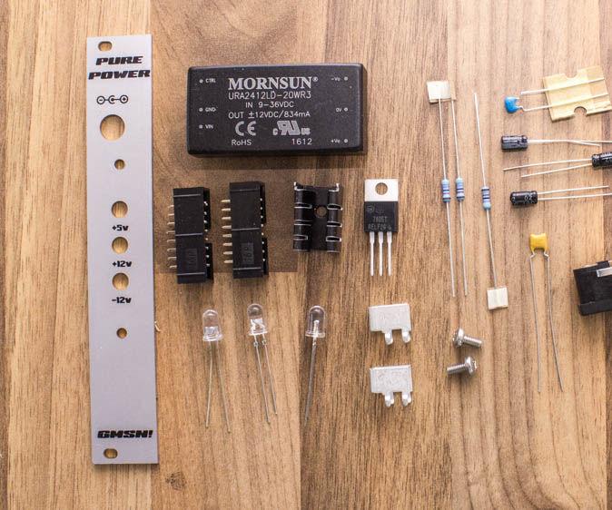 Eurorack Modular Synth Power Supply