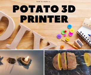 土豆3 d打印机