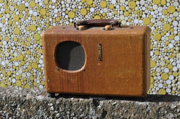Re-purposing an Antique Portable Radio Into a Hip Bluetooth Speaker