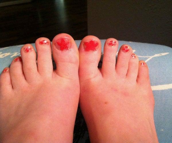 Starfish Toes