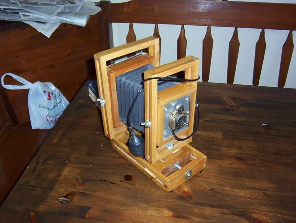 Bellows for Large Format Camera