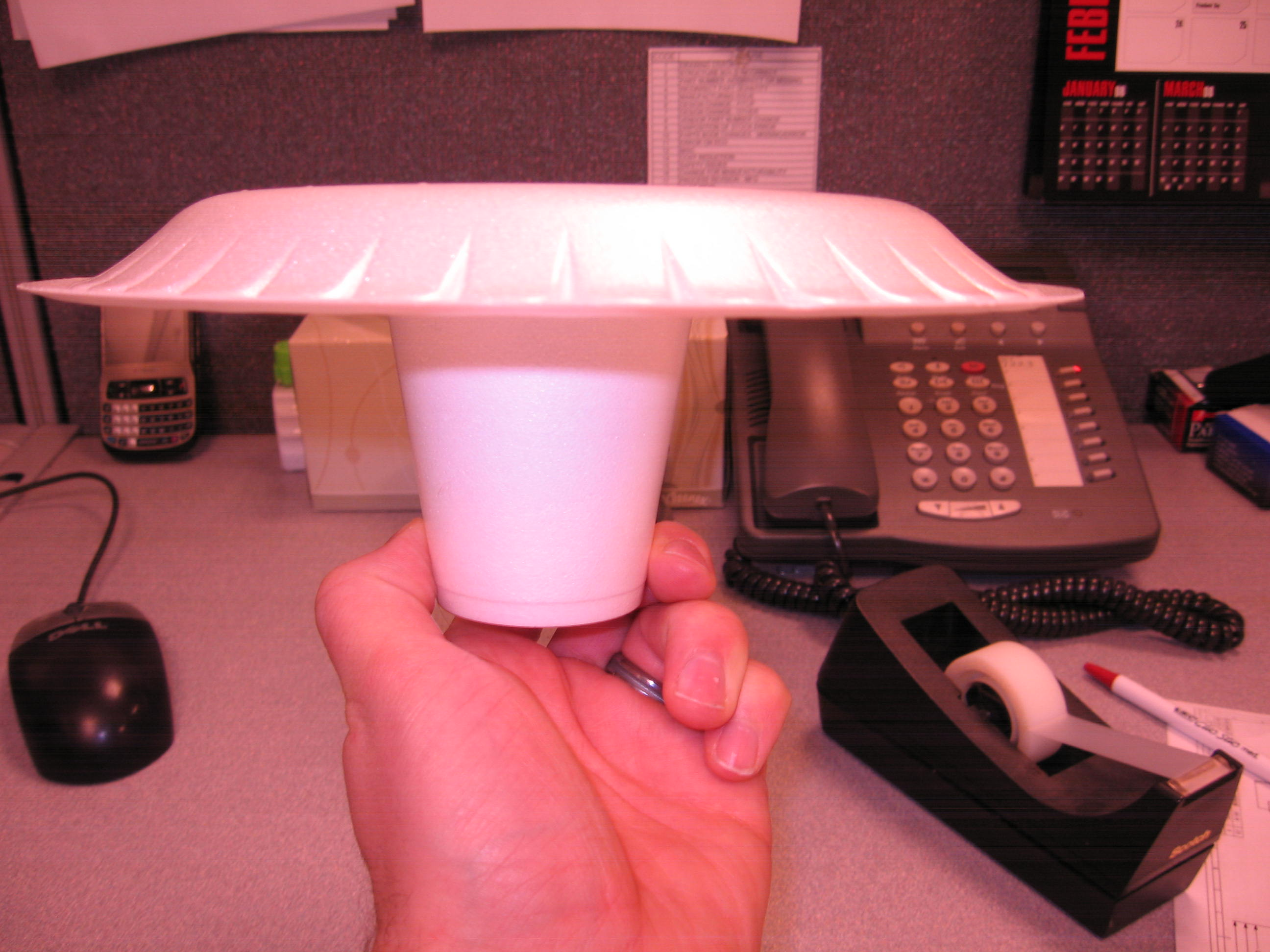 super simple office 'floater', great for kids too!