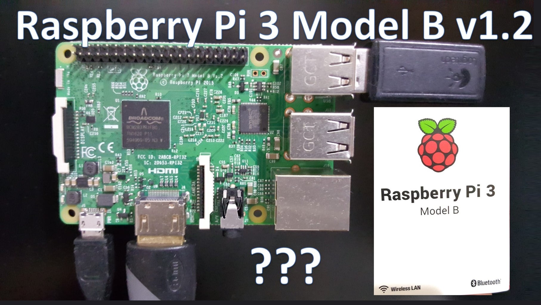 How to Use Raspberry Pi 3 Model B+ V1.2 for the First Time!