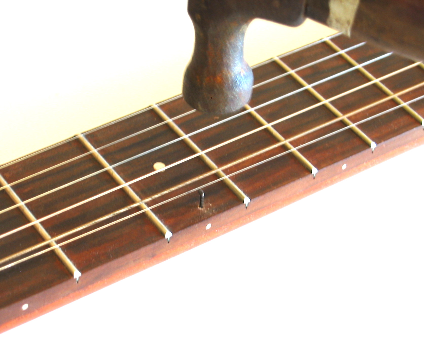 Railroad Spike Capo for your Guitar or Banjo