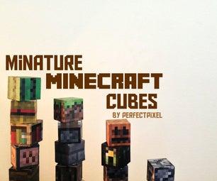 Miniature Minecraft Cubes!