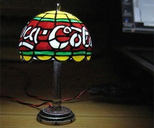 Mini USB Powered Tiffany Lamp