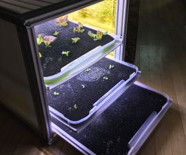 Harvest Drawers - NASA Growing Beyond Earth Contest Entry