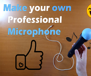 How to Make Professional Recording Microphone From Broken Headphone at Home