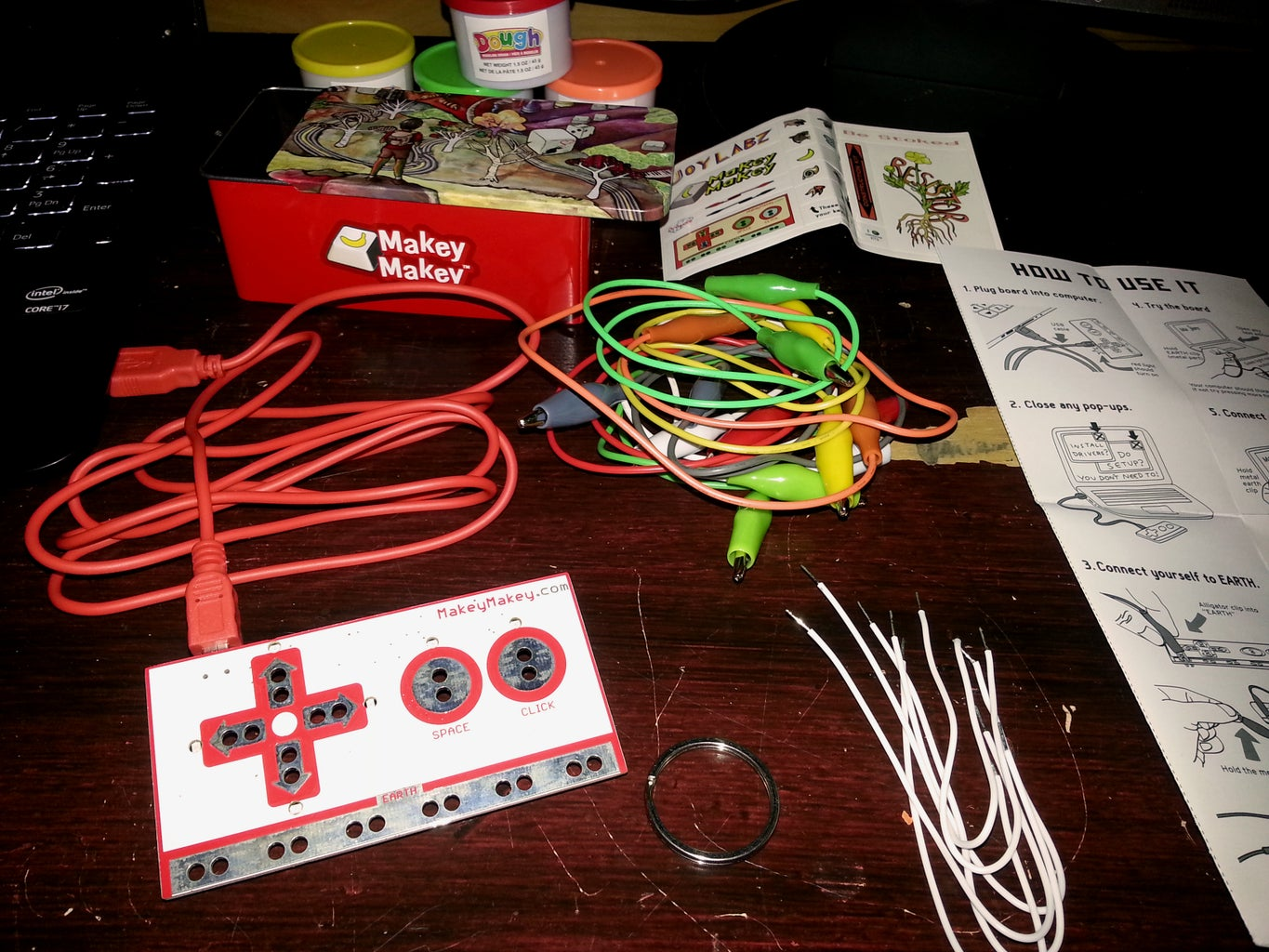 Custom Crazy Taxi Video Game Controller With Makey Makey