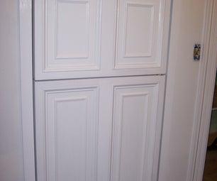 Custom Panelled Refrigerator