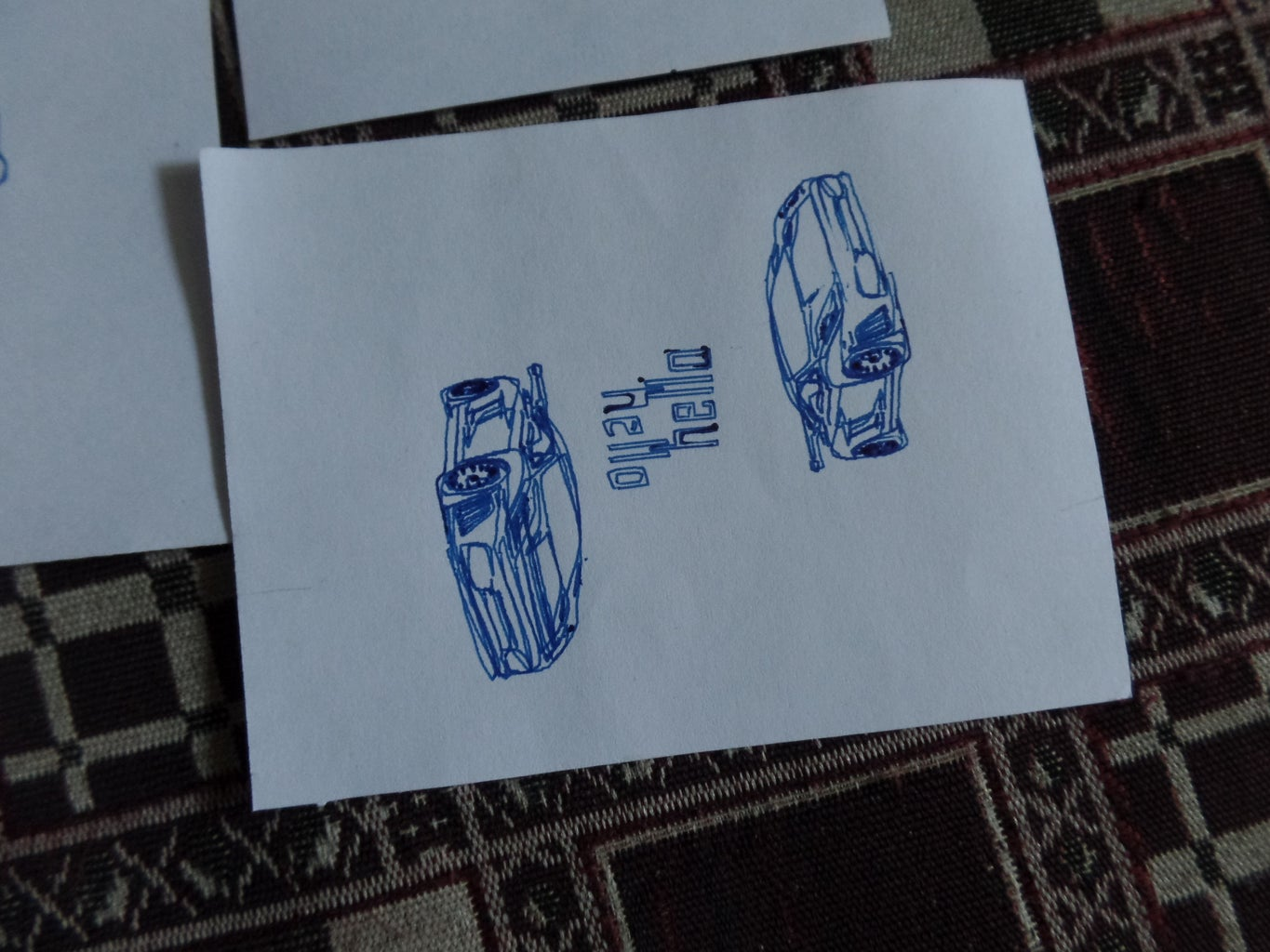 Sample of the Designs I Did With the Plotter.