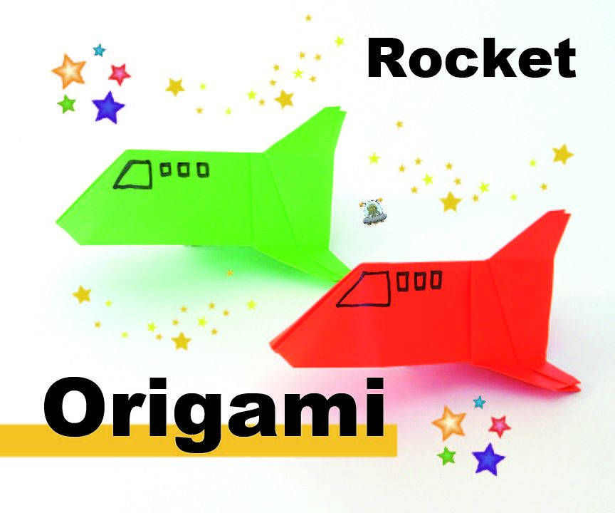 How to origami a ROCKET