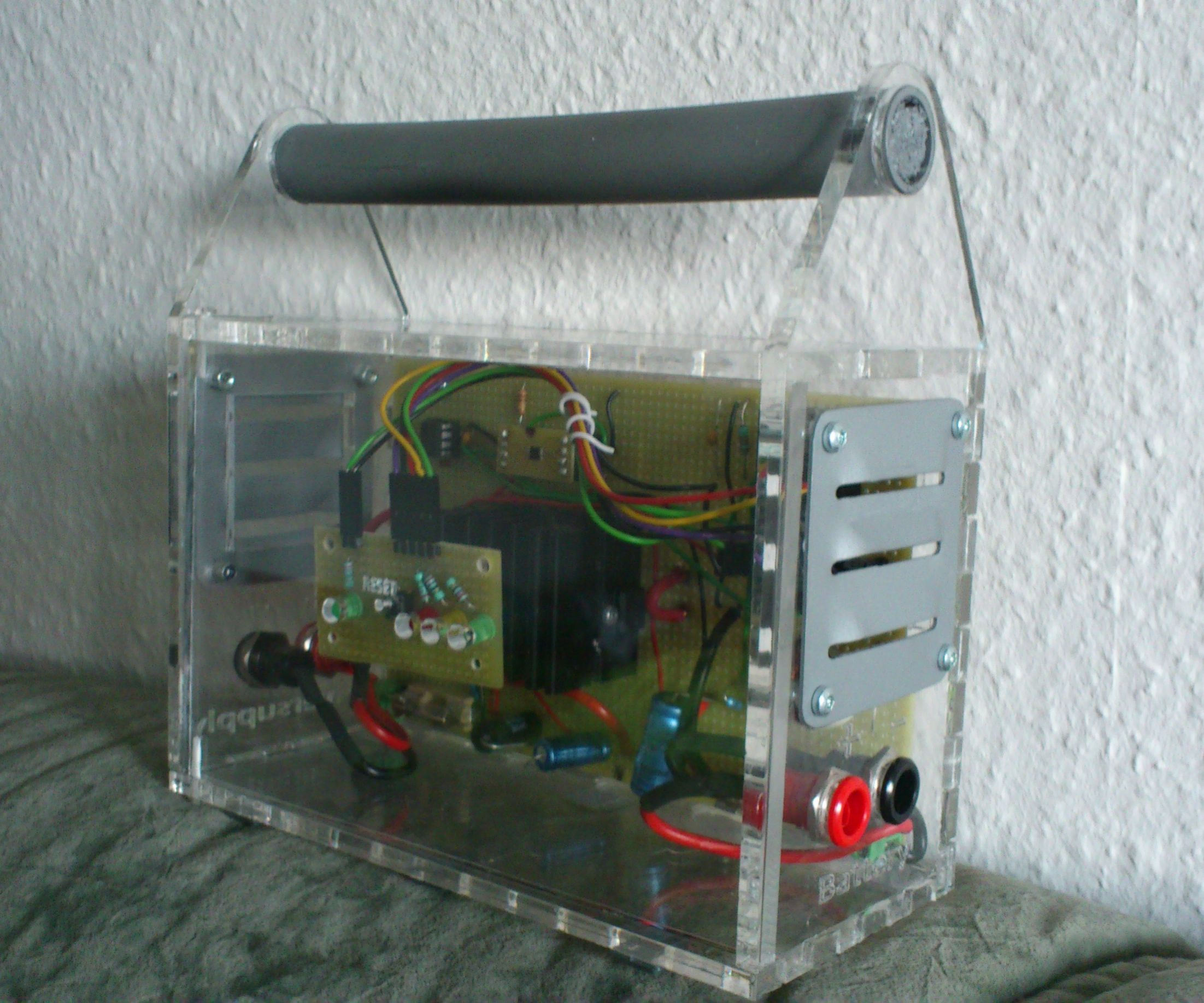 Arduino powered Solar Battery Charger