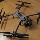Xcompact: DIY drone frame that fits into backpack