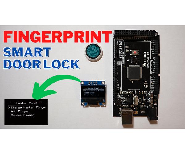 Fingerprint Smart Door Lock With OLED | Arduino