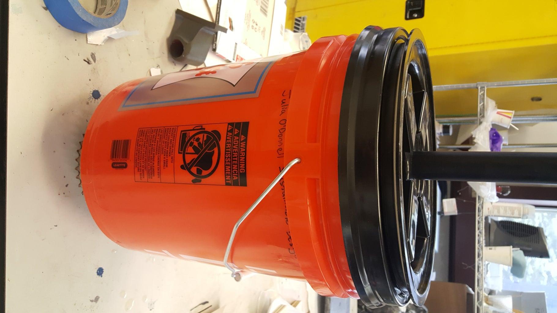 Waterproof Bucket: Lid