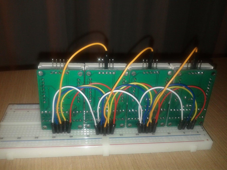 Wiring of Data PINs