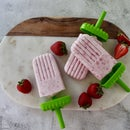 Paletas - Mexican Strawberry Popsicles