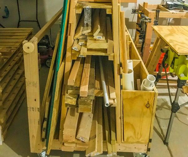 Giant Lumber Cart