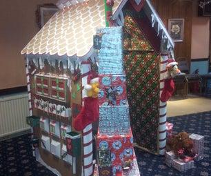 Gingerbread Xmas House for Santa!