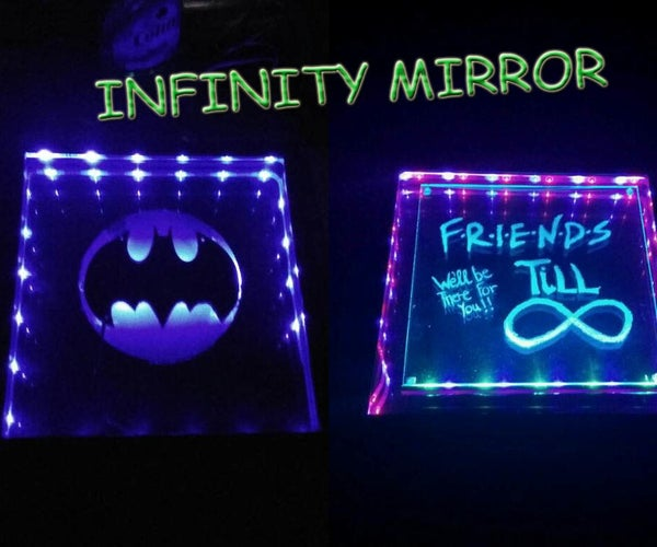 Batman and F.R.I.E.N.D.S Infinity Mirror