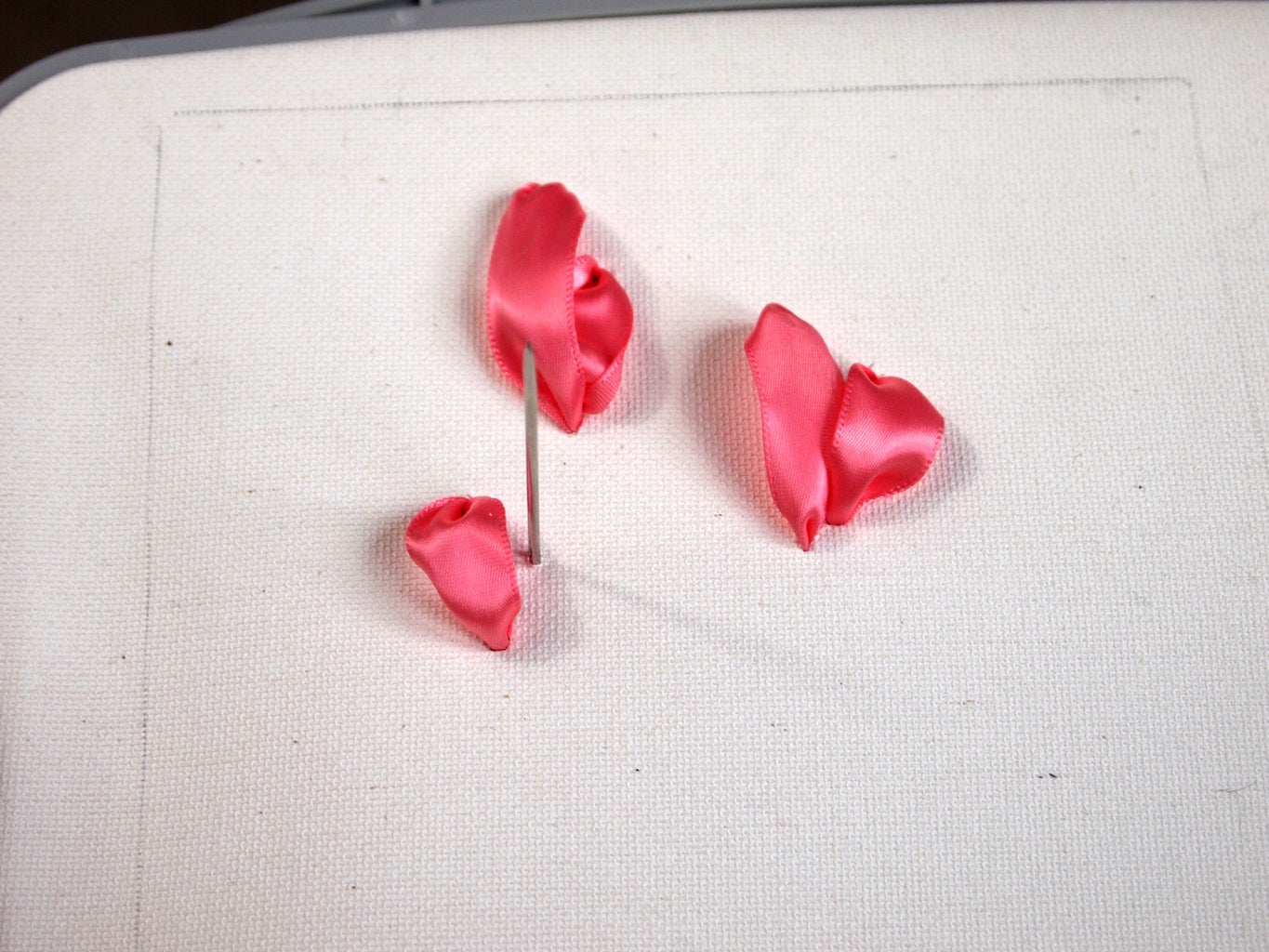 Creating the Ribbon Flowers