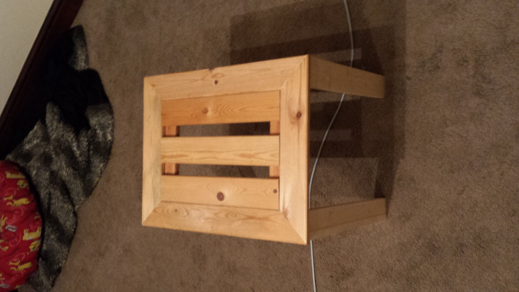 My First Woodworking Project!