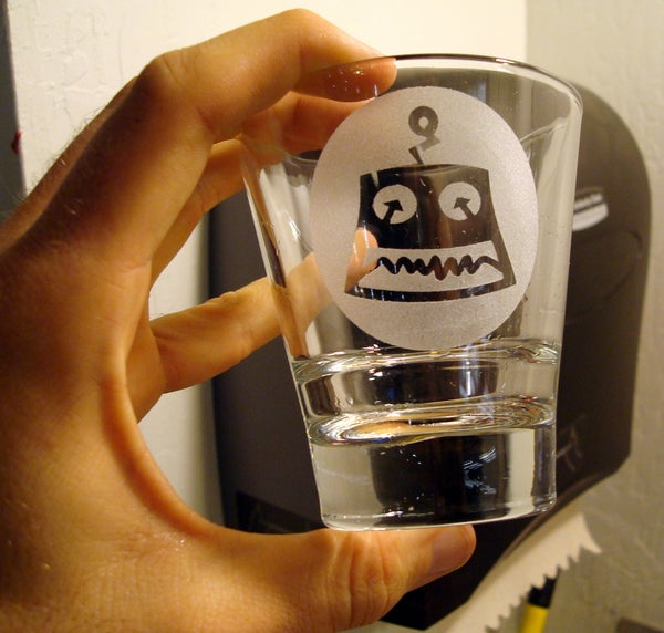 How to Make Custom Etched Glasses