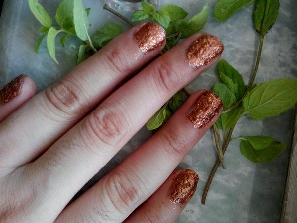 Glittering Nail Polish (washable/ Peelable for Muslims)