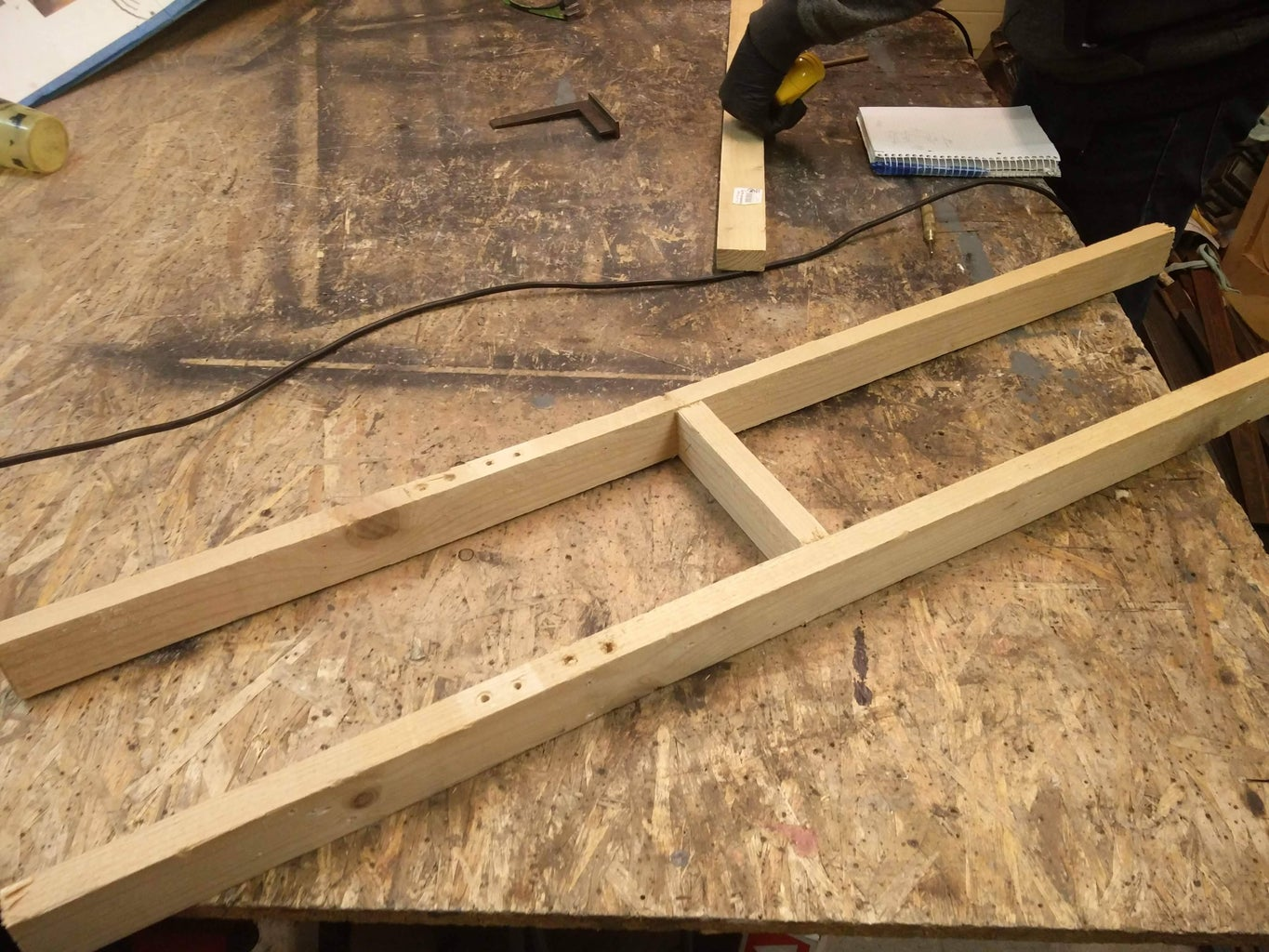 Cut the Wood Planks