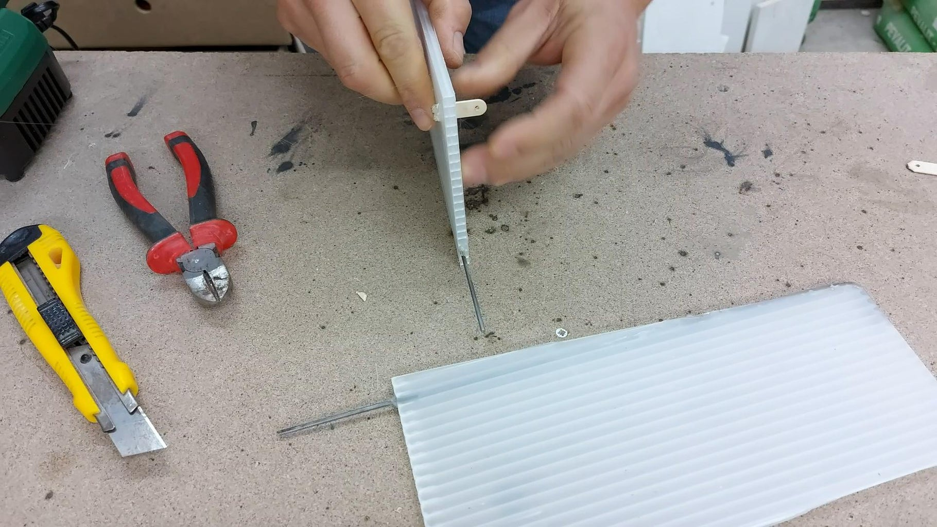 Make the Rudders