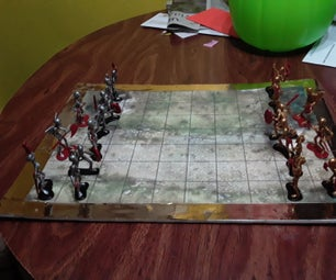 Skeleton Wars Board Game.